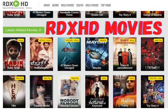 RdxHD Website: Bollywood, Hollywood & Punjabi All New Movies Download